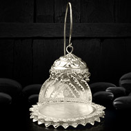 Silver deity throne - I