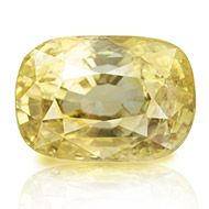 Yellow Sapphire - 5.14 carats