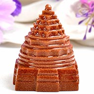 Shree Yantra in Sunstone - 89 gms