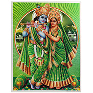 Radha Krishna Photo - Large