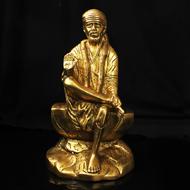 Sai Baba in Brass