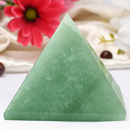 Light Green Jade Pyramid - Big