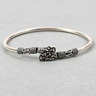 Dragon Designer Kada in Pure silver