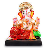 Vighneswar Ganesh with Puja Kit