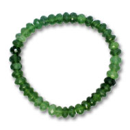 Serpentine Faceted Bracelet - 7 mm
