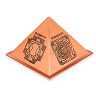 Protection Yantra Pyramid in Copper