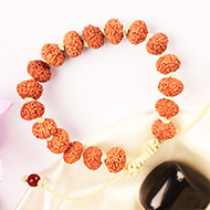 10 mukhi Narayan Bracelet in thread- Java