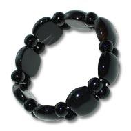 Black Agate Bracelet - Design I