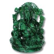 Ganesha in Budd Stone - 625 gms