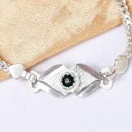 Pure silver Rakhi - Design XIV