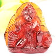 Hanuman in Gomedh - 162.20 carats