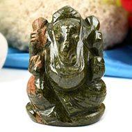 Unakite Ganesha-118 gms