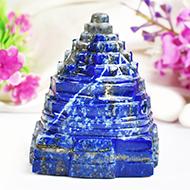 Lapis Lazuli Shree Yantra - 217 gms