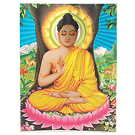 Lord Buddha Photo - Large