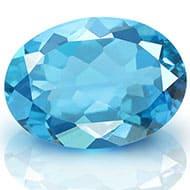 Blue Topaz - 6.30 carats - Oval