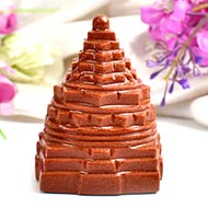 Shree Yantra in Sunstone - 147 gms
