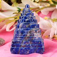 Lapis Lazuli Shree Yantra - 50 gms