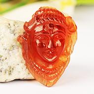 Shiva in Gomed - 35.10 carat