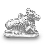 Nandi in pure silver - Design I