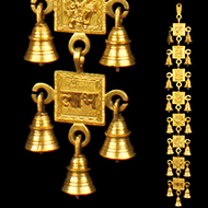 Subh Labh with Gods and Goddess Bells