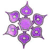 Rangoli - Peepal leaf design