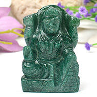 Laxmi in Green Jade - 125 gms