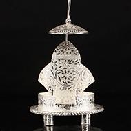 German silver throne