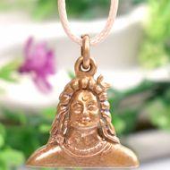 Shiva Pendant in Bronze - 8 gms