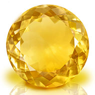 Yellow Citrine - 6.85 carats - Round