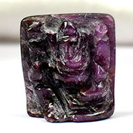 Ruby Ganesh - 26.15 carats