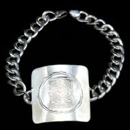 Mahamrityunjaya Yantra Bracelet in Silver