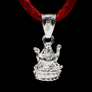 Mahalakshmi Locket in Pure Silver - Design I
