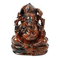 Mahogany Obsidian Ganesha - 1.500 kgs