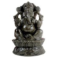 Obsidian Ganesha - 795 gms