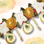 Traditional Toran with Golden Balls