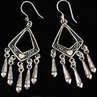 Earrings in Silver - Design VI