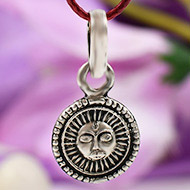 Surya Locket in pure silver - Design III