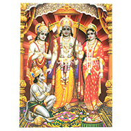 Ram Parivar Photo - Large