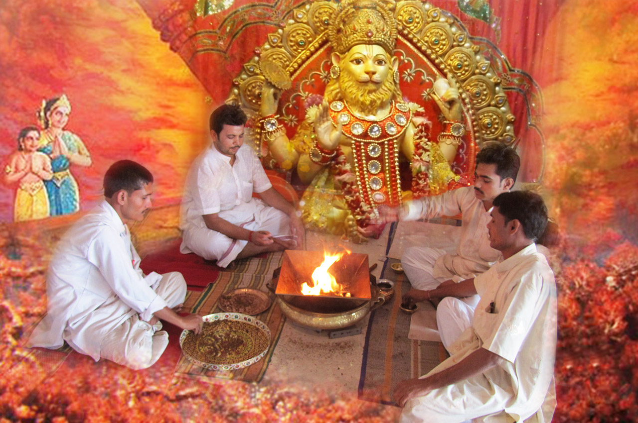 Lord Narasimha Puja Mantra Japa and Yajna