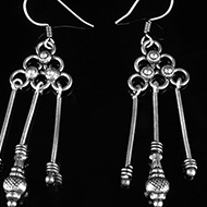 Earrings in Silver - Design XVI