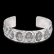 Shiva Kada in pure silver - Design I