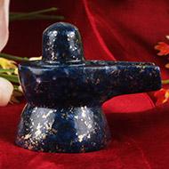 Lapis Lazuli Shivlingam - 49 gms