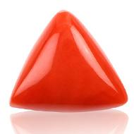Italian Coral triangular- 14 carats