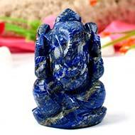 Lapis Lazuli Ganesha - 152 gms