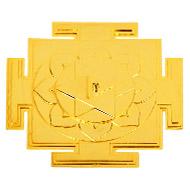 Siddh Meru Shiva Yantra - Gold Polish