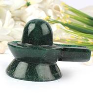 Green Jade Shivlinga - 284 gms
