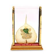 Ganesha Peepal Leaf