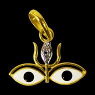 Durga Netra in Gold