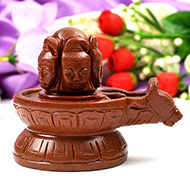 Pashupatinath Shivling in Sunstone - 467 gms