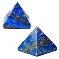 Lapis Lazuli Pyramid - Set of 2 - II